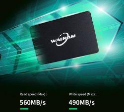 SSD 1 Unidade Walram 120GB